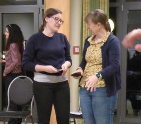Susan Wyllie and Mattie attend EMBO Lab Leadership Course